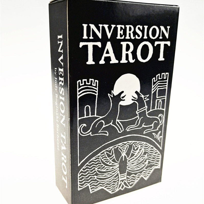 2021 Hot Sell Inversion Tarot  Cards 78Cards Tarot Cards For Divination Personal Use Full English Version Tarot 2021 hot sell dreaming way tarot cards 78cards tarot cards for divination personal use full english version tarot