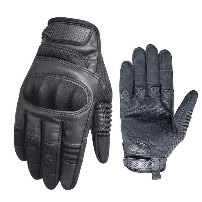 Guantes tácticos para escalada, senderismo, antideslizantes, deportes de combate, Motociclismo seguridad en ciclismo, guantes de protección para Paintball Airsoft