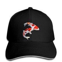 Baseball cap Koi Fish Baseball caps Koi Carp Fish Graphic women hat