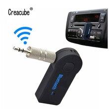 Mini Bluetooth Adaptörü 3.5mm Jack AUX Ses MP3 Müzik Alıcısı Araç Kiti Kablosuz Handsfree Hoparlör Kulaklık Adaptörü iphone