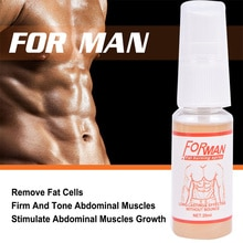 10ML Fitness Powerful Abdominal Muscle Cream Stronger Muscle Burn Cream Product Loss Strong Anti Cel