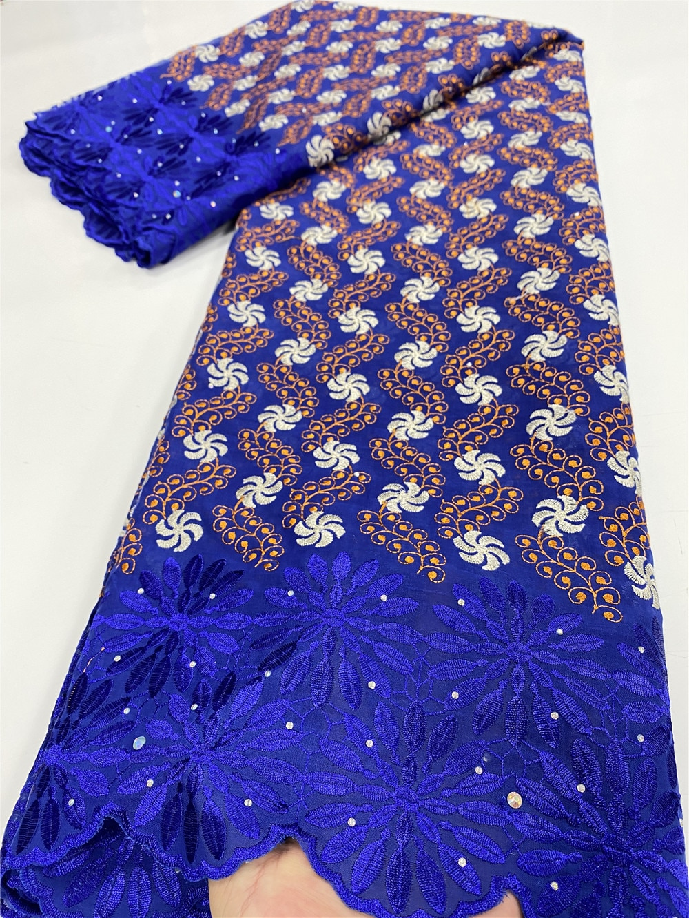 Swiss Voile Lace In Switzerland 2020 High Quality Embroidery African Lace Fabric Fashion French Cotton Lace Fabric YA3550B-6 african 100% cotton lace fabric 2021 high quality lace material in switzerland embroidery swiss voile lace fabric ty013