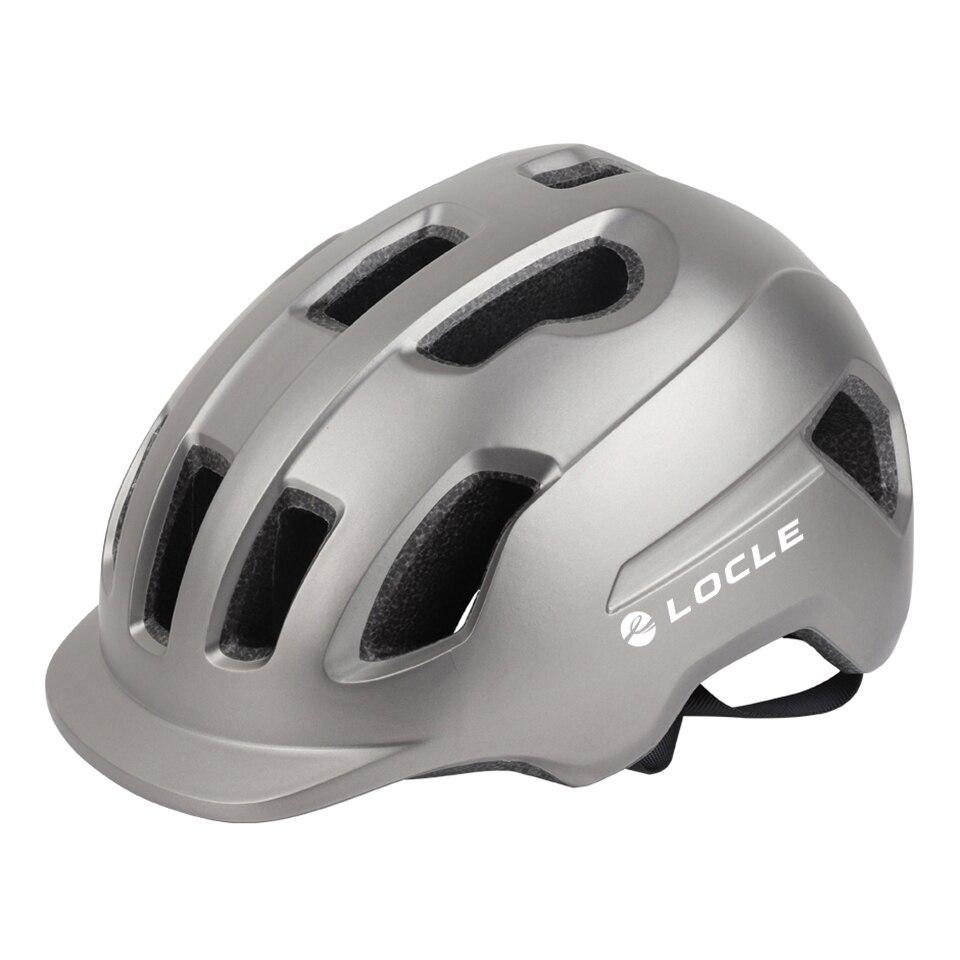Casco de Ciclismo LOCLE para hombre y mujer, Casco de bicicleta ultraligero...