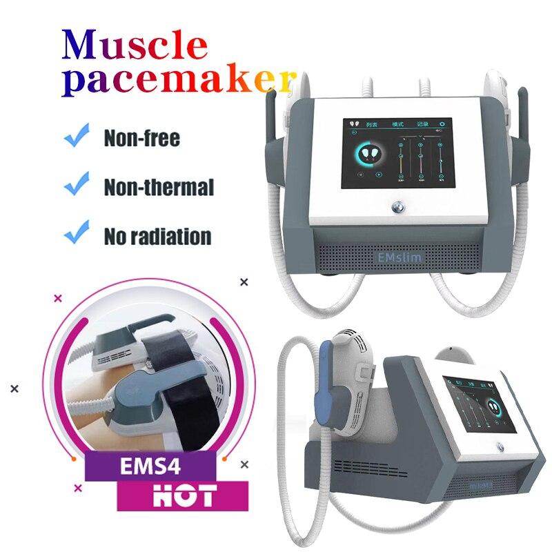 EMSlim المحمولة الكهرومغناطيسية الجسم Emslim التخسيس العضلات تحفيز إزالة الدهون الجسم التخسيس بناء العضلات آلة