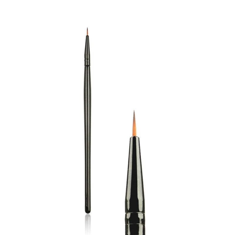 1Pcs Hot Professional Lip Fine Eyeliner Brush Eyebrow Cream Brush Eyeshadow Cosmetic Eye Makeup Tools