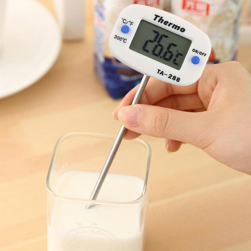 Digital Kitchen Thermometer Hot Sale Meat Water Milk Cooking Food Probe Barbecue Electronic Oven Thermometer Kitchen Utensils