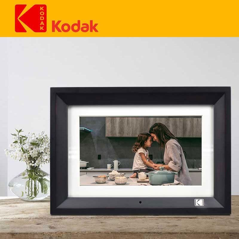 KODAK 7 pulgadas Marco de foto Digital Full HD foto Digital LCD marco con Control remoto alarma reloj Slideshow MP3 Player