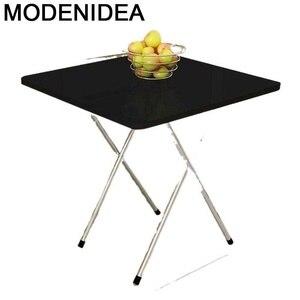 Restaurant Eating Tafel Esstisch Dining Set Redonda Ouro Folding Desk De Jantar Kitchen Furniture Mesa Plegable Dinner Table