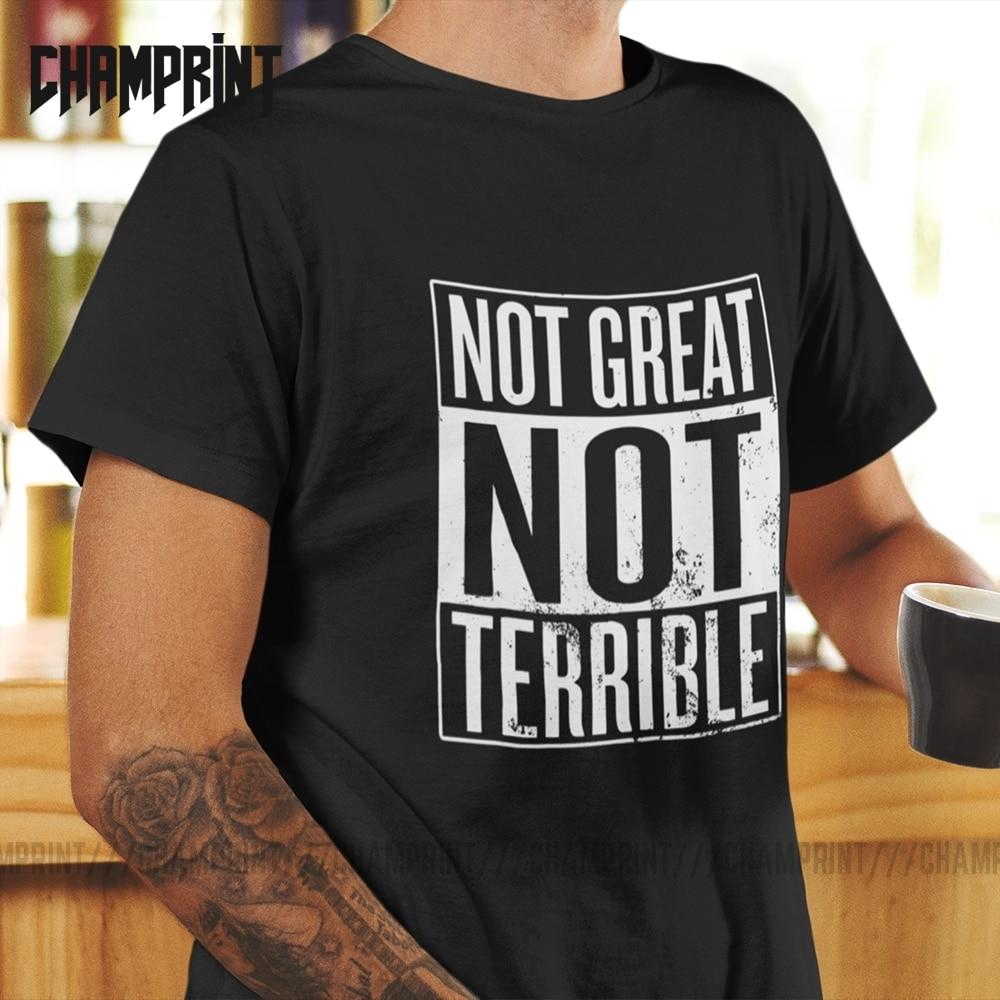 No es genial, no Terrible, camisetas de Chernobyl, Camiseta 100% de algodón para hombres, camiseta de manga corta de la zona de exclusión Ivankiv Raion