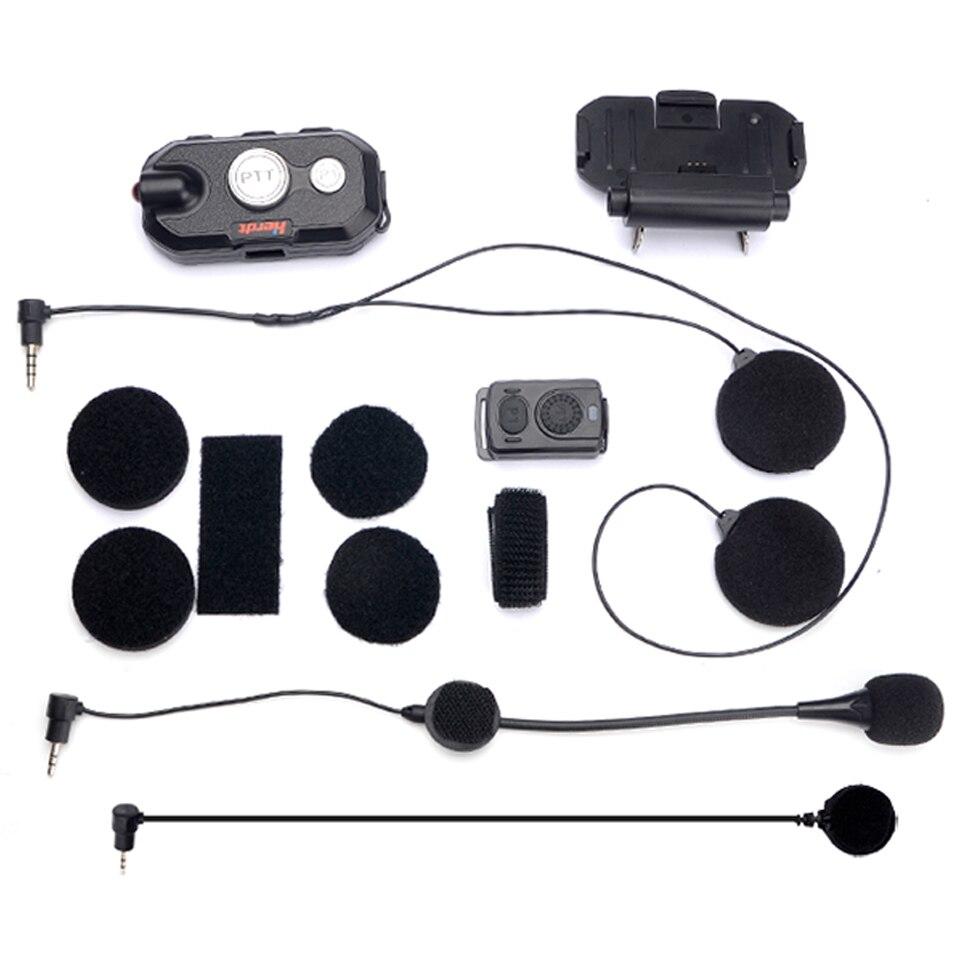 Walkie Talkie Hands-free Helmet Bluetooth Headset K /M Plug Wireless Headphones For Motorcycle Helmet Locomotive helmet Earphone enlarge
