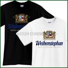 WEIHENSTEPHAN Beer T-Shirt Brewery Promo Black White TShirt Tee Sz S M L XL 2XL
