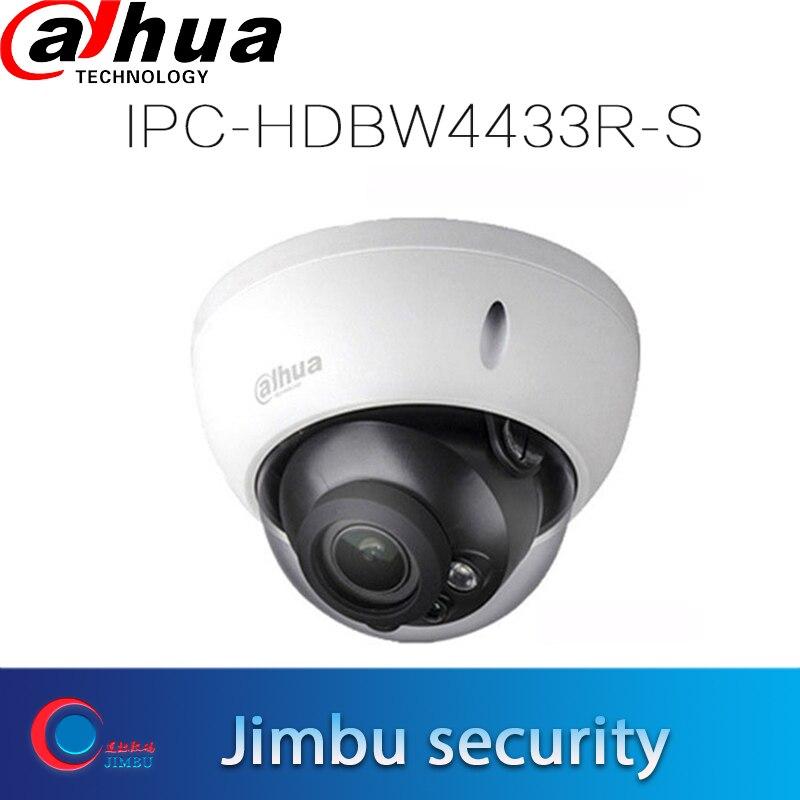 Dahua poe H.265 IPC Cámara 4MP IPC-HDBW4433R-S reemplazar la red de IPC-HDBW4433R-S IR30m H.265 Domo IP Cámara Micro SD memoria 128G
