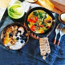 Vaisselle vajilla ramen bol noix de coco completa de platos geschirr bol frutero bols en bois vaisselle cocina assiettes ensemble nouille assiettes à salade a soupe gamelle cuisine service ensembles