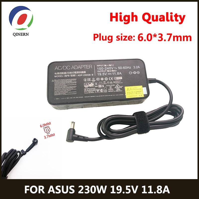 19.5 فولت 11.8A 230 واط 6.0*3.7 مللي متر شاحن التيار المتناوب محمول محول ل ASUS ROG GM501GS GX501 GX501V GX501VI GX501VI-XS75 الطاقة