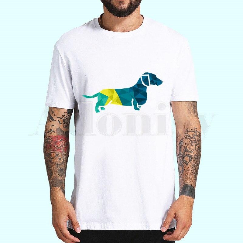 Dachshund Hot Sale Print Funny Graphic T Shirts Men/women Summer Harajuku Mens Streetwear Camisa Casual O Collar Custom Shirt