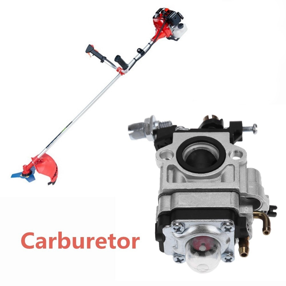 Gasoline grass trimmer accessories carburetor brush cutter engine carburetor 40-5 44-5 43cc 52cc недорого