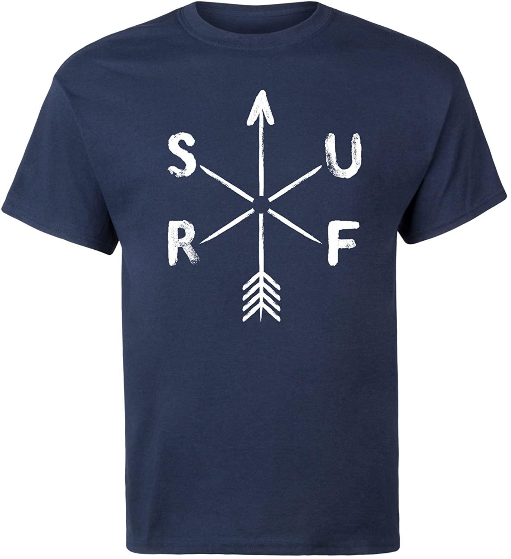 Camiseta blanca de manga corta para hombre de Surf Weathervane, gran oferta, camiseta fresca para hombre, verano 2020, camiseta transpirable de algodón de 100%