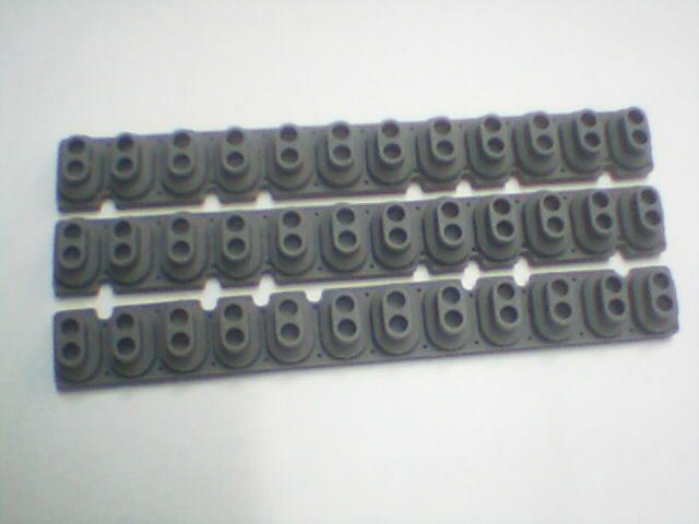 Original nuevo KORG llaves-SP-180 SP-250 SP-280 piano eléctrico KROME sintetizador caucho conductivo de cálidamente por 1 año 1 Uds