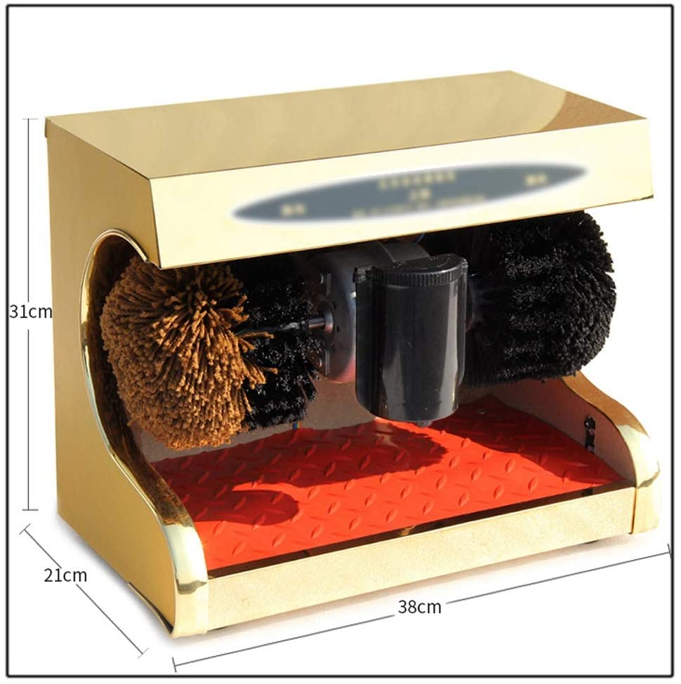 TDF Automatic Shoes Cleaning Machine Electric Shoe Polish Machine with Shoe Brush Induction Suitable for Household Or Public Use enlarge