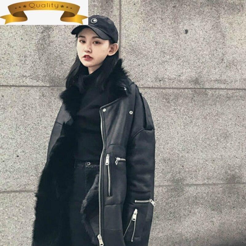 Abrigo de lana Natural para mujer, chaqueta femenina de lana Natural de...