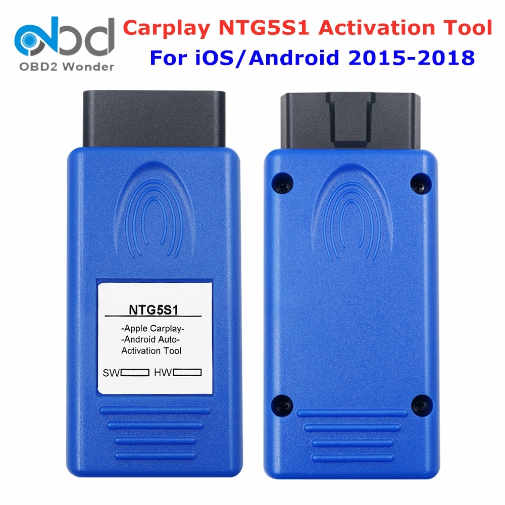 NTG5S1 Carplay For Apple/Android Auto OBD2 Activation Tool NTG5 S1 Carplay Plug and Play For Mercedes For Benz For A/B/CLA Serie