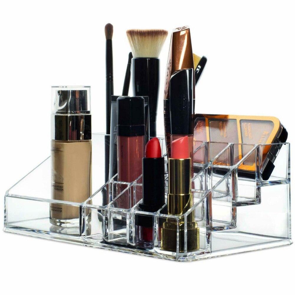 tiroir transparent rangement maquillage