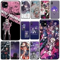 danganronpa v3 killing harmony phone case for iphone 11 12 pro xs max 8 7 6 6s plus x 5s se 2020 xr soft silicone cover shel