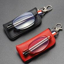 Men and women anti-blue light foldable reading glasses anti-fatigue anti-radiation glasses hyperopia