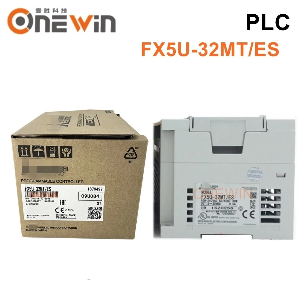 Nuevo y Original FX5U-32MT/ES melseg iq-f PLC CPU módulo