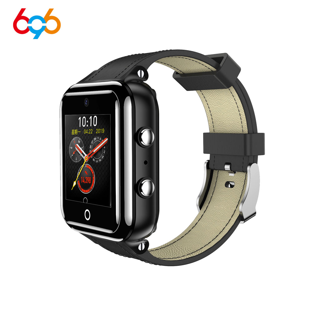 696 M5 1+16GB Waterproof Smart Watch 4G Network Bluetooth 1.54 inch Smartwatch Support SIM Heart Rate Monitor Fitness Tracker