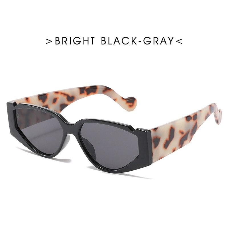 Солнцезащитные очки 2020 женские очки Ретро Винтажные Солнцезащитные очки «кошачий глаз» солнцезащитные очки леопардовые очки UV400 пластиков...
