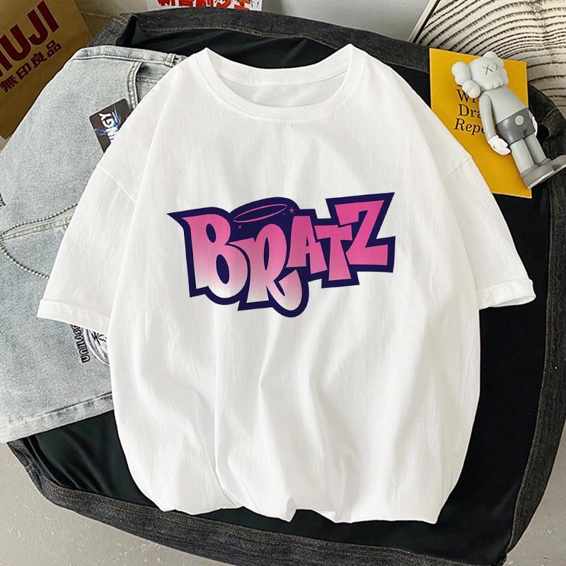 Summer Women's T-shirt Letter Print T Shirt Clothes Graphic Tee Casual Harajuku Top Short Sleeve Tsh