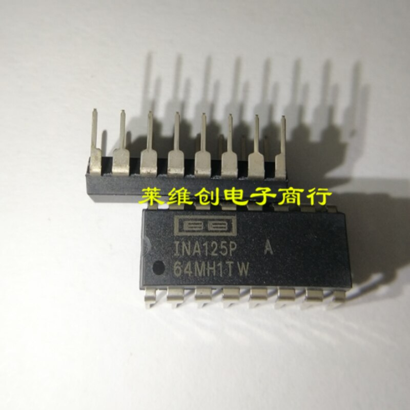 Solo original INA125PA INA125P DIP-16 importado nuevo genuino