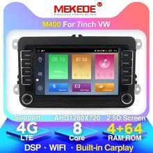 MEKEDE-lecteur Radio GPS DVD 2 Din   Pour Volkswagen VW polo golf 5 touran passat B6 b7 jetta tiguan siège leon, vente en gros!
