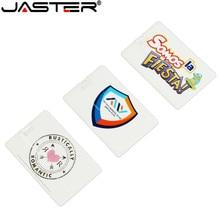 JASTER (10pcs free logo) card Usb Flash Drive Pendrive 64gb 32gb 16gb 8gb Car Music Video Player Beautifully Designed Gift