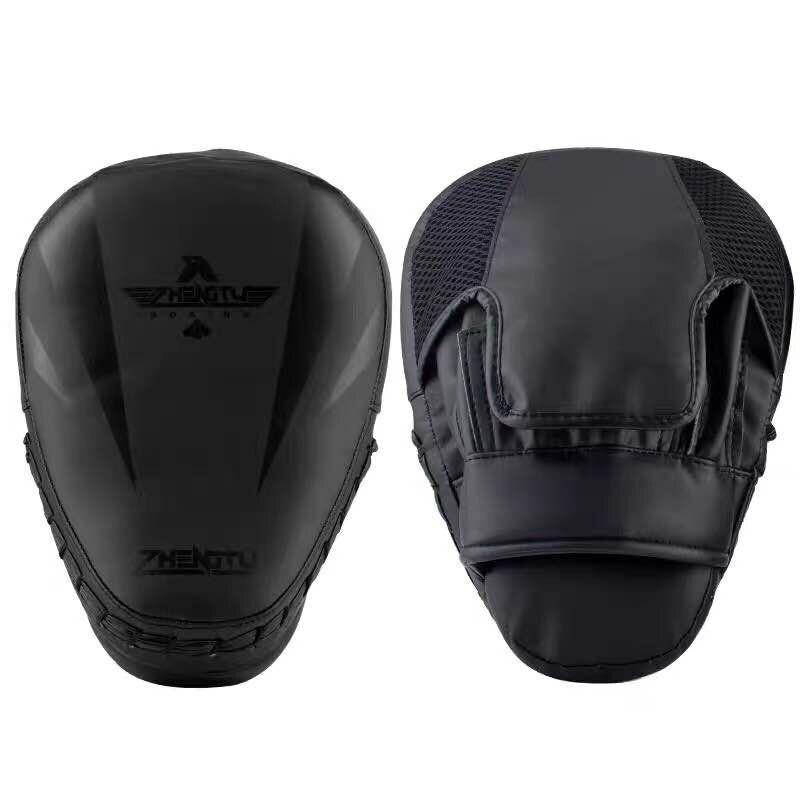 Купить с кэшбэком Boxing target pads Super MMA Punch Pad Focus Sanda Training Gloves Karate Muay Thai Kicking pad woman/man Arc Target Wholesale