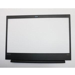 Новинка/Оригинальный чехол для Lenovo Thinkpad E480 E485 E490 E495 передняя крышка ЖК-дисплея Черная передняя крышка FRU 01LW155