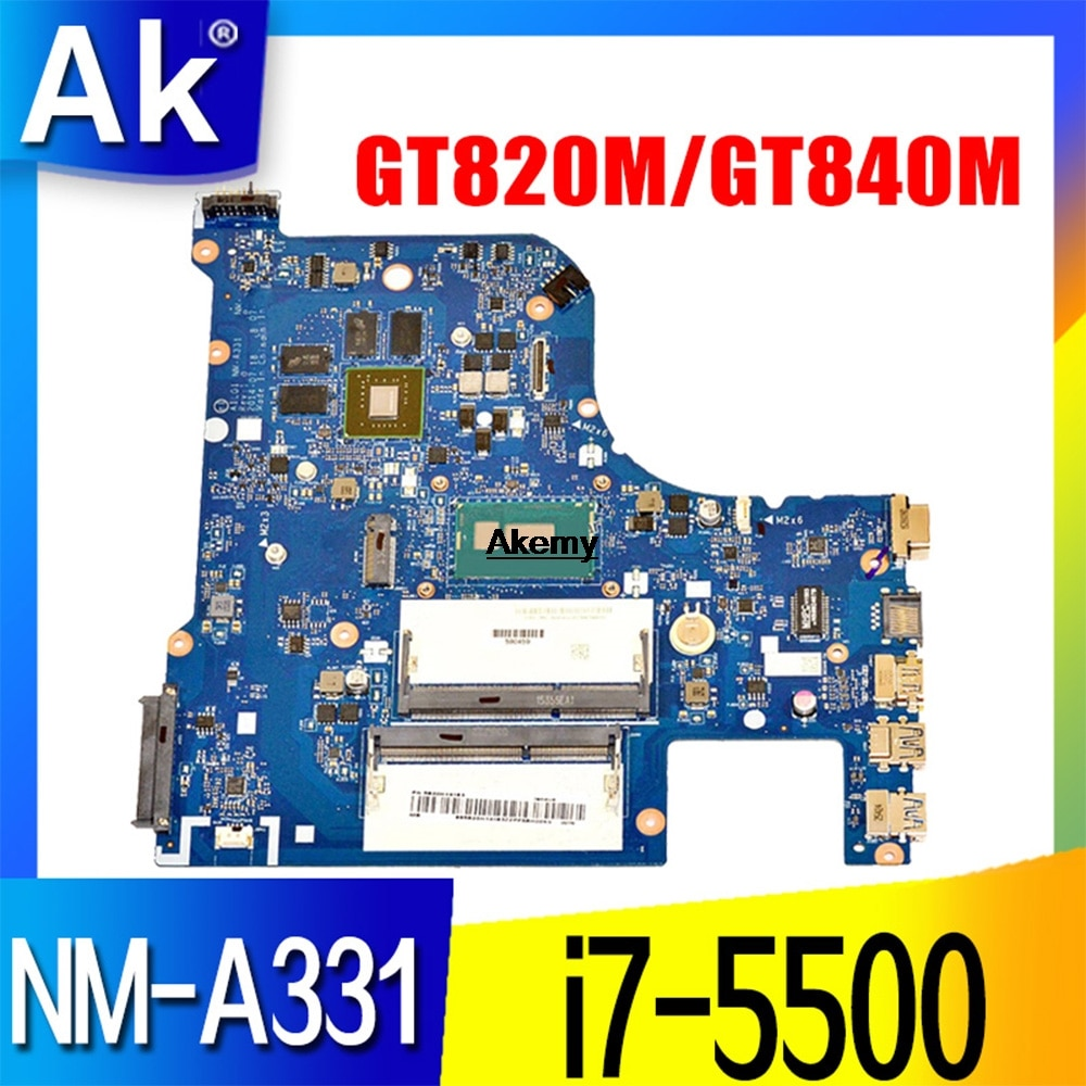 G70-80 para Lenovo G70-70 B70-80 Z70-80 I7-5500U placa base AILG NM-A331 DDR3L com GT840M/GT820M/GT920 Teste 100% original