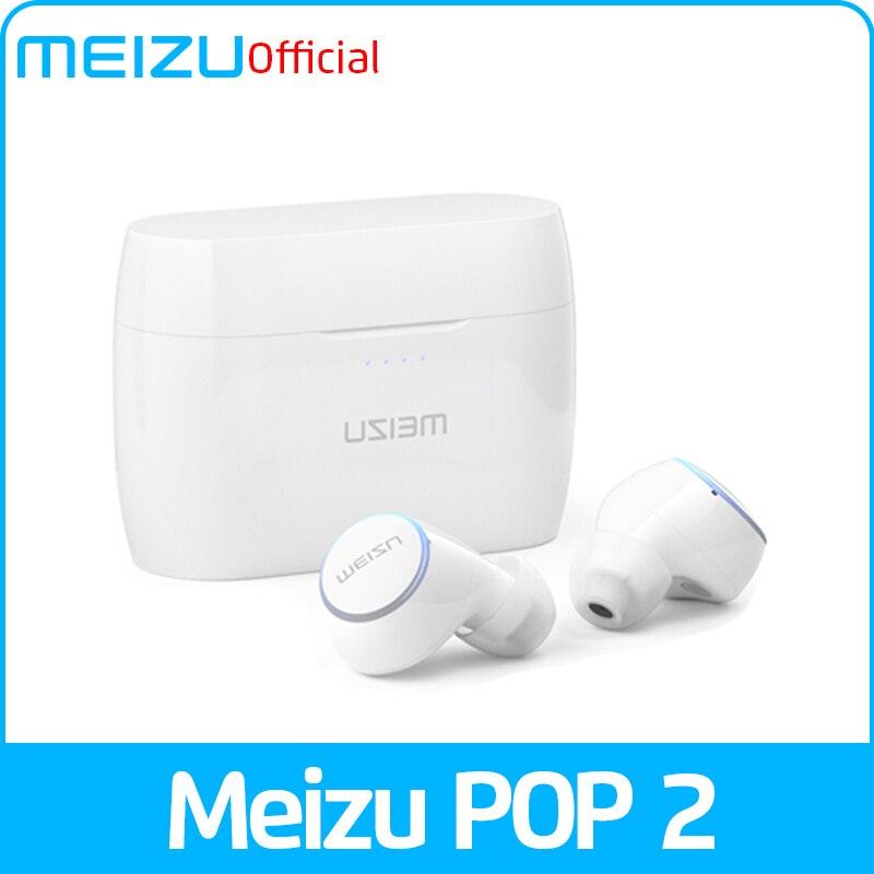 Глобальная версия Meizu POP 2 Bluetooth 5,0 наушники TW50S беспроводные наушники IP5X спортивные наушники-вкладыши гарнитура для 16th 16