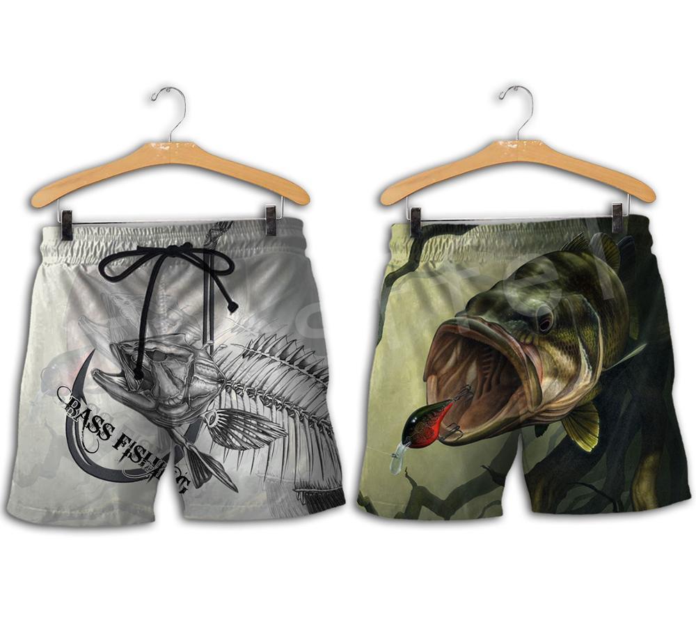 Tessffel, nueva moda, pantalones cortos Unisex con estampado de 3 d, para caza, pesca, cazador, Camuflaje, para hombre y mujer, pantalones cortos de verano S-3