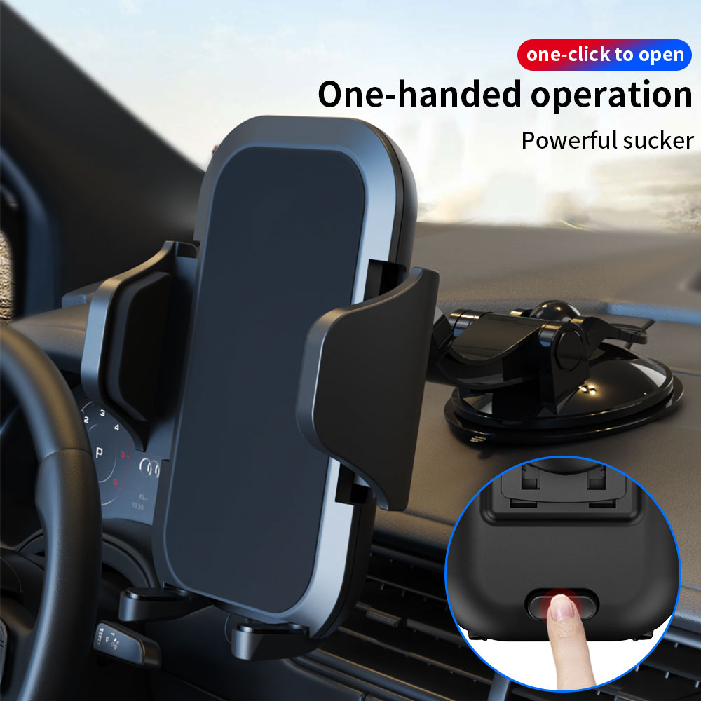 360° Rotating Phone Holder Universal Dashboard Suction Cup Car Phone Holder for iPhone Samsung Gala