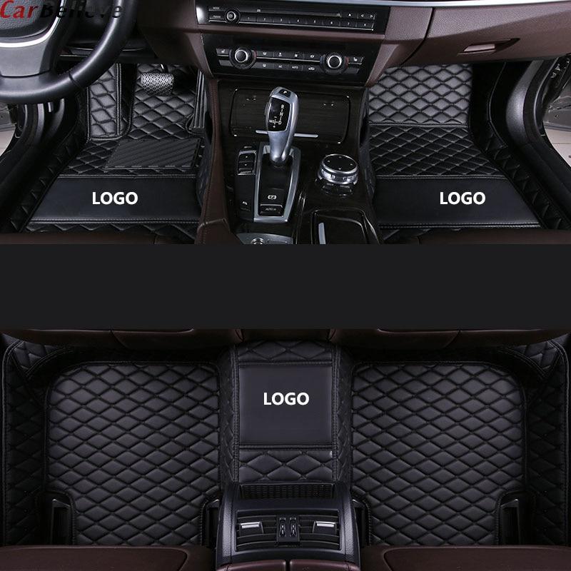 Autotitati Custom Car Floor Mats for Mazda All Models mazda 3 Axela 2 5 6 8 atenza CX-7 CX-3 MX-5 CX-5 CX-9 CX-4 auto styling