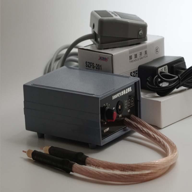 ماكينة لحام موضعية ببطارية 220 فولت ، جهاز لحام صغير محمول باليد ، طاقة عالية ، للاستخدام المنزلي ، 18650