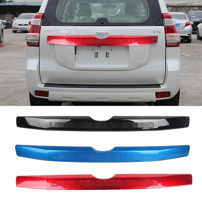 Автомобильный Стайлинг 1 шт. для Toyota Land Cruiser Prado FJ150 2014-2017 ABS Хром Задняя Крышка багажника отделка декоративные полоски
