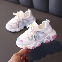2021 baby fashion sports shoes first walkers 1 6 years baby boys girls fashion sneakers size 21 30 toddler kids running shoes