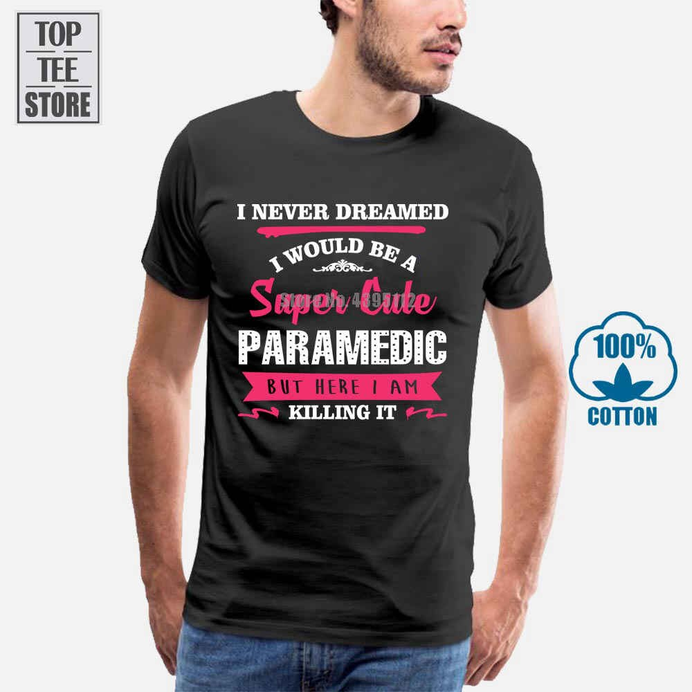 Camiseta deportiva transpirable para hombre, Camiseta holgada para hombre, regalo de cumpleaños para un súper bonito paramédico, camiseta Unisex