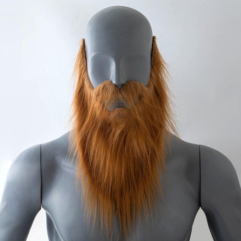 Funny Costume Party Halloween Beard Mask Fake Beard Wig Game Black Beard Party Supplies Halloween New Arrival
