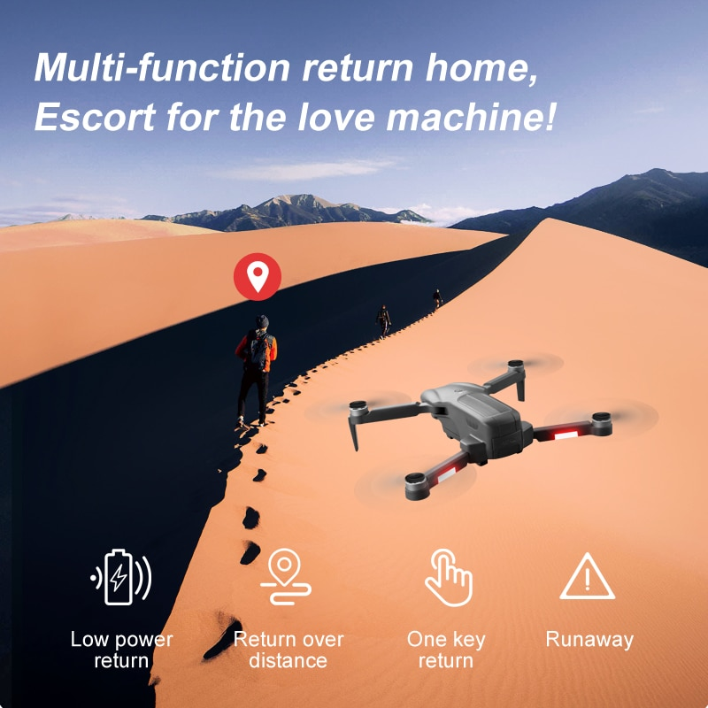 F9 Drone 6K Dual HD Camera GPS 5G Wifi Professional Aerial Photography Drones Brushless Motor Foldable Quadcopter Toys Gift enlarge