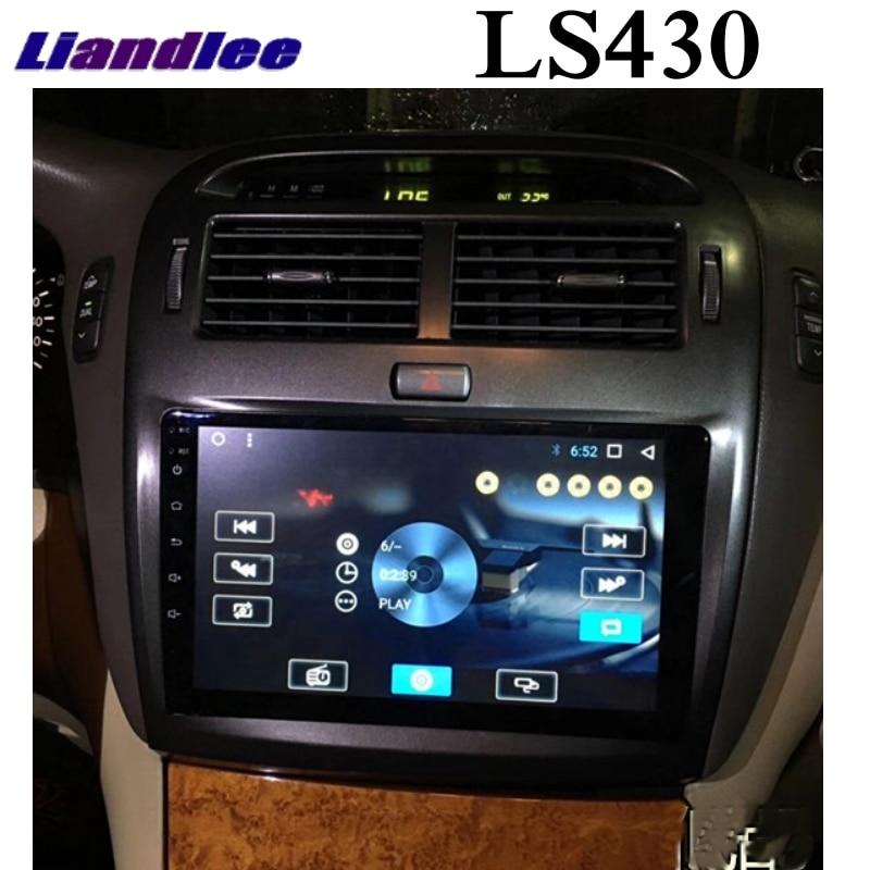 Para Lexus LS LS430 XF30 para Toyota Celsior 2000 ~ 2006 reproductor Multimedia de coche pantalla NAVI inalámbrico CarPlay Radio navegación GPS
