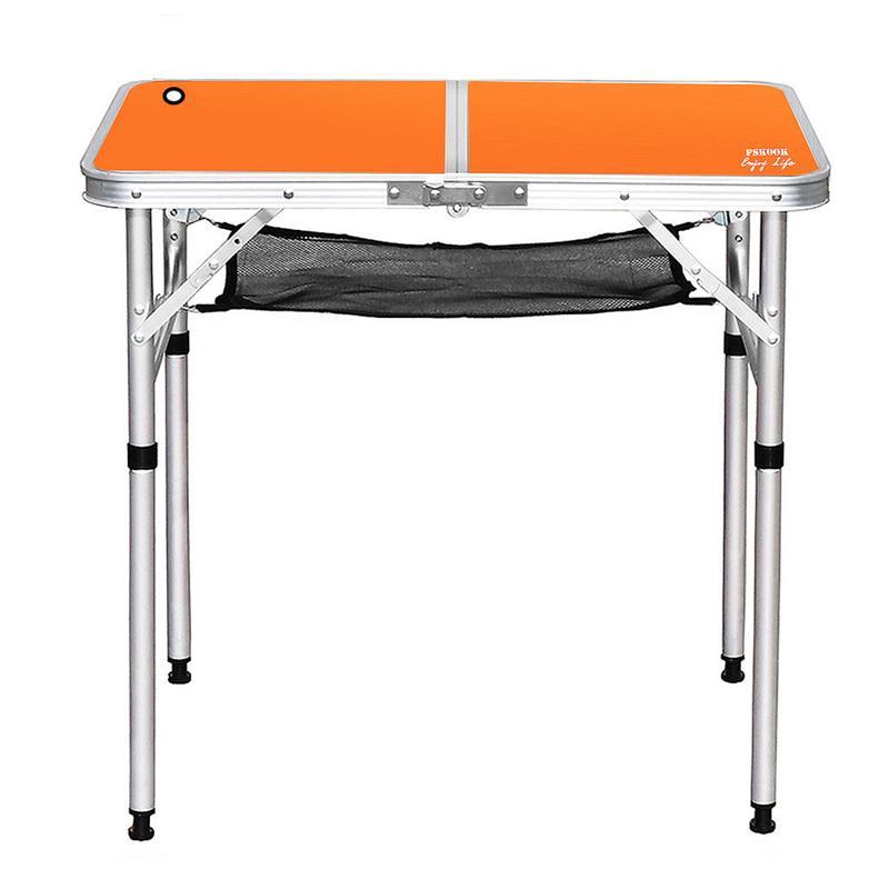1 قطعة في الهواء الطلق طاولة قابلة للطي محمولة سبائك الألومنيوم الشواء نزهة الجدول